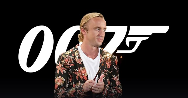 Tom Felton wants to play the next James Bond – and who could say no to Draco Malfoy?