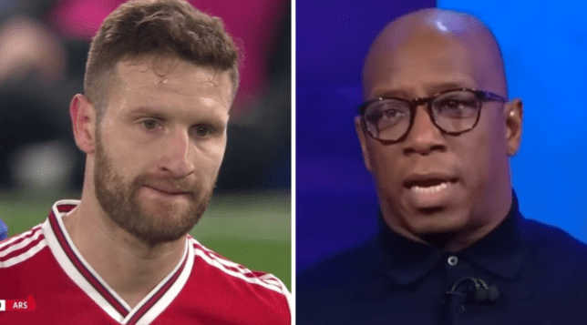 Shkodran Mustafi is 'not good enough' for Arsenal, Ian Wright said after the draw with Chelsea in the Premier League