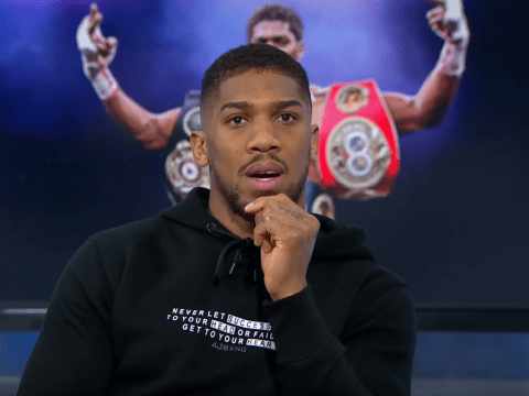 Anthony Joshua makes prediction for Deontay Wilder-Tyson Fury rematch