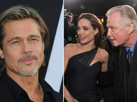 Angelina Jolie's dad Jon Voight 'proud' of Brad Pitt and 'excited' for Golden Globes reunion