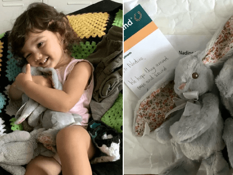 Mums track down beloved bunny toy for little girl with the help of kind Poundland boss