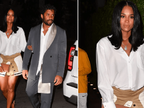 Ciara and Russell Wilson celebrate baby news on date night after sweet pregnancy announcement