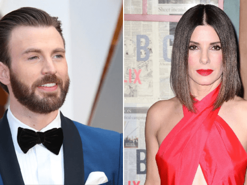 Avengers' Chris Evans reveals 'giant, giant, giant' poster of Sandra Bullock graced his ceiling and we love this 3000