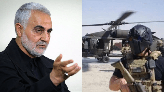 SAS troops 'sent to Iraq' after US assassination of Iranian general