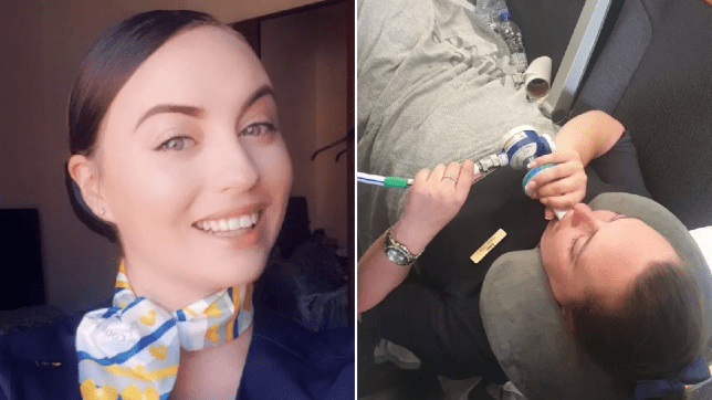 'Terrifying' turbulence saw Thomas Cook air hostess break leg in seven places