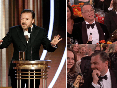 Ricky Gervais horrifies Golden Globes 2020 stars with claims they'd 'work for ISIS' and paedophile jokes