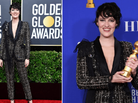 Phoebe Waller-Bridge auctioning off her Golden Globes suit to raise money for Australian wildfires