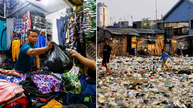 Indonesia and plastic bags