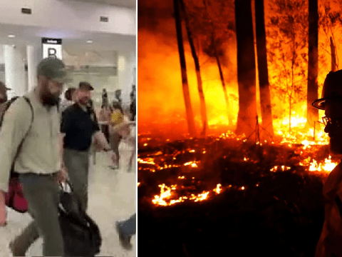 US firefighters met with cheers as they join battle against Australia bushfires