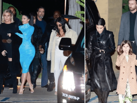 Kylie Jenner steps out in style with Kardashian family in Malibu