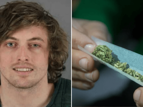 'Stoner drug dealer tried to get high on his own mother's ashes'