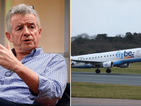 Ryanair boss demands Flybe's 'tax holiday' be extended to all airlines
