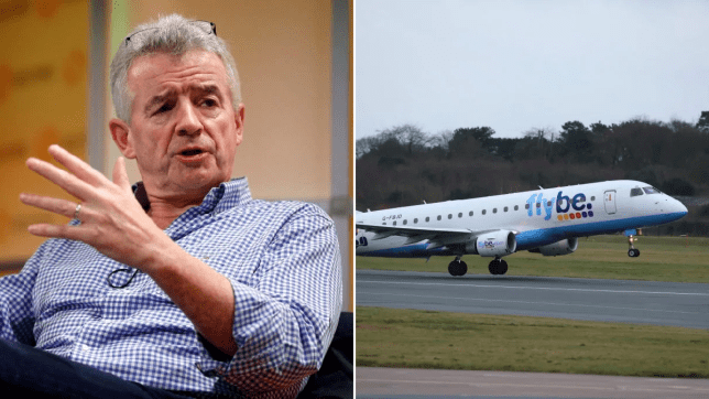 michael o'leary ryanair flybe
