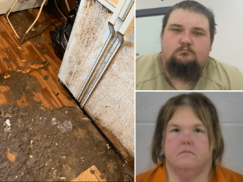 'Couple forced two-year-old boy to live in dog feces-covered home'