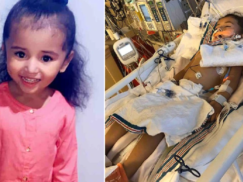 Girl, 3, has been hospitalized in California with coronavirus for a month