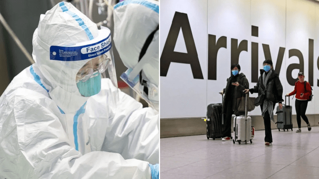 Hunt for 2,000 people who travelled to UK from Coronavirus-hit region in China