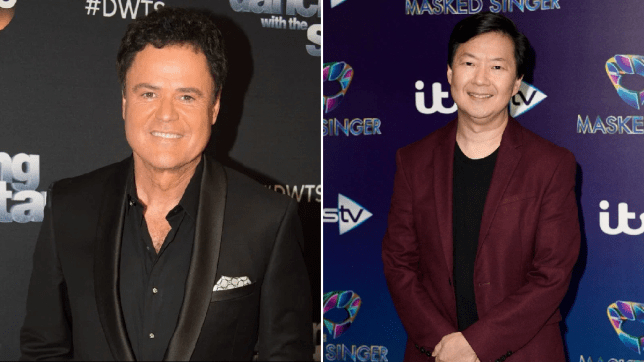 Donny Osmond and Ken Jeong