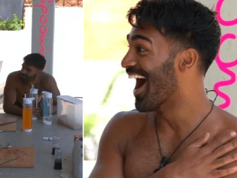 Love Island fans despair at Nas Majeed's weird choice of breakfast: 'Pardon?'