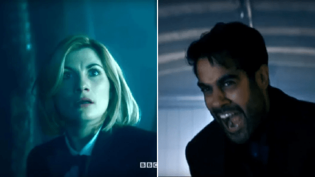 Doctor Who Jodie Whittaker The Doctor Sacha Dhawan The Master Spyfall Part Two