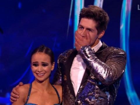 Dancing On Ice's John Barrowman cheekily compliments Ben Hanlin's bum: 'It's not a problem'