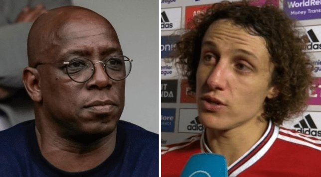 Ian Wright thinks David Luiz crossed the line with his comments after Arsenal beat Manchester United in the Premier League