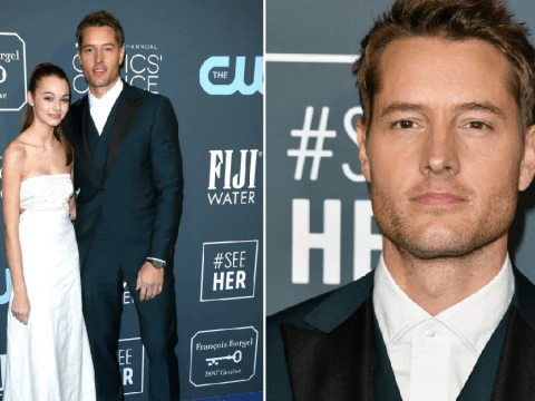 This Is Us' Justin Hartley enjoys daughter date at Critics' Choice Awards amid Chrishell Stause divorce