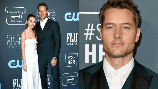 Justin Hartley and daughter Isabella