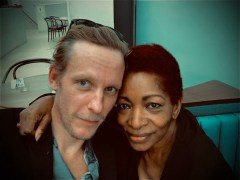 Laurence Fox clashes meets Bonnie Greer for coffee despite being anti-woke