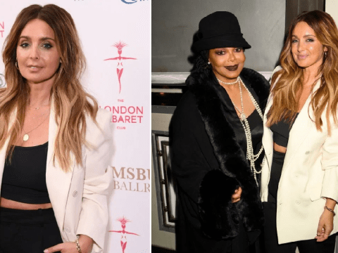 Louise Redknapp thrilled as she performs for 'idol' Janet Jackson at Great Gatsby Gala