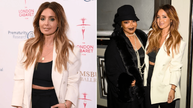 Louise Redknapp and Janet Jackson