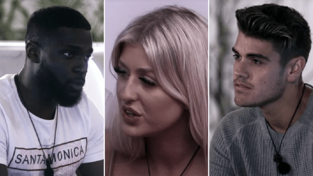 Love Island - Mike, Jess and Luke M