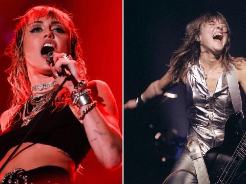 Miley Cyrus in talks to play Suzi Quatro in biopic of iconic rockstar