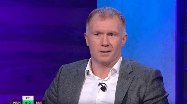 Paul Scholes believes Man Utd are more likely to sign Bruno Fernandes after their defeat to Burnley