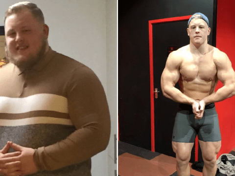 Man loses nine stone by ditching 10,000-calorie diet he copied from Instagram bodybuilders