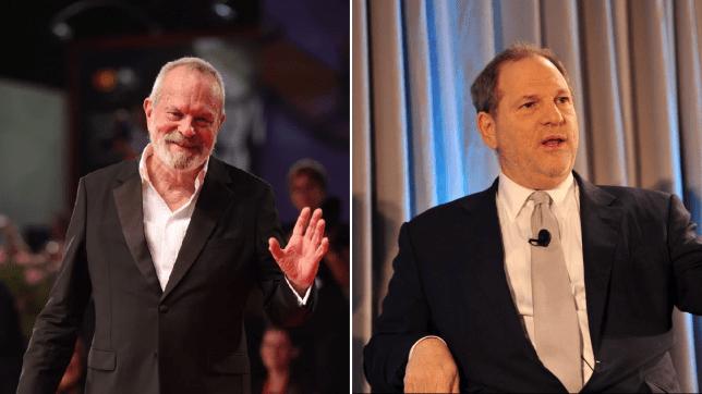 Terry Gilliam and Harvey Weinstein