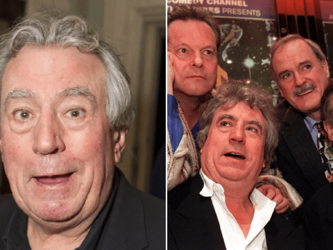 Monty Python fans share laughs together in poignant tribute to Terry Jones following his death aged 77 from dementia