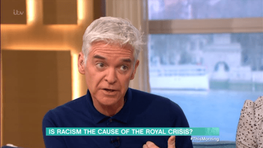 This morning Racism debate