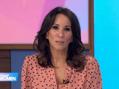 Andrea McLean reveals mum 'smoked all the way through pregnancy' with her and she was in an incubator for a week after being born