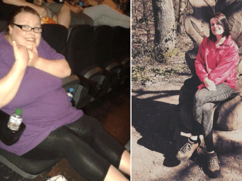 Woman loses 14 stone after breaking rollercoaster seat at Alton Towers
