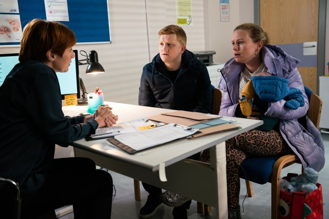 Gemma and Chesney in Coronation Street