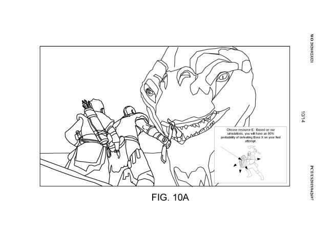 Sony help system patent illustration