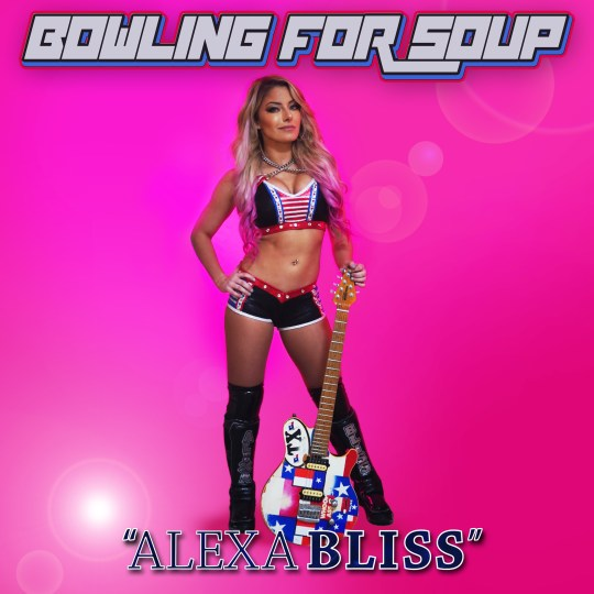 Pop punk band Bowling For Soup cover for Alexa Bliss single about WWE superstar