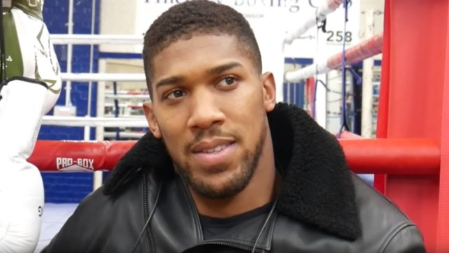Anthony Joshua has urged Tyson Fury to change his mind over the location of their fight
