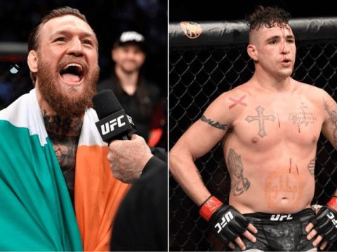 Conor McGregor mocks old UFC rival Diego Sanchez after controversial disqualification win