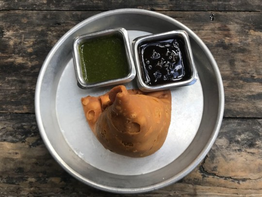 Curry Up Nows Samosa