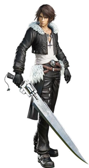 Squall Leonhart Final Fantasy 8
