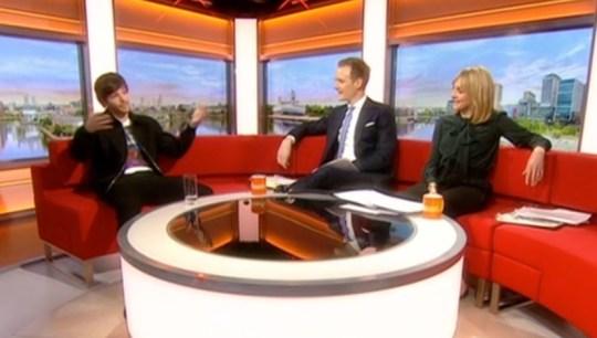Louis Tomlinson on BBC Breakfast