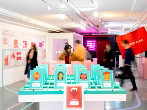 Twitter opens 'Dating Twitter Advice Bureau' pop-up in London for Valentine's Day