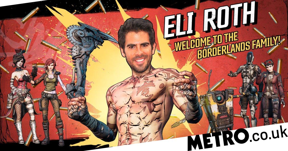 Borderlands movie to be helmed by Hostel director Eli Roth and Chernobyl writer