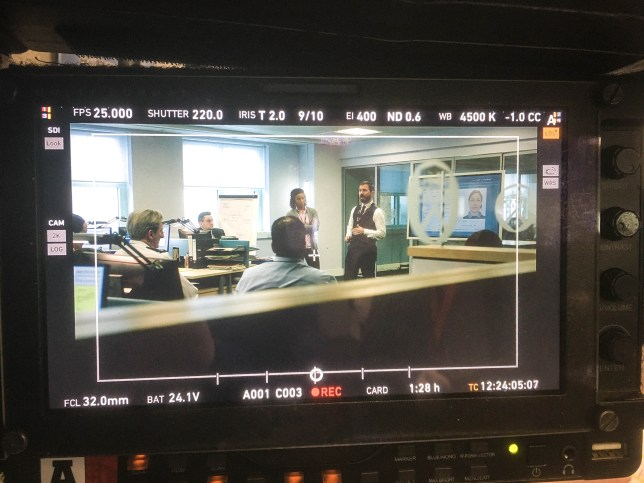 Line of Duty series 6 set photo